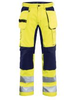 Blåkläder 1552 Werkbroek met Stretch High Vis