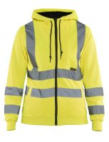 Blåkläder 3347 Dames Hooded Sweatshirt High Vis