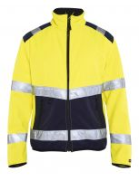 Blåkläder 4877 Softshell jack High Vis