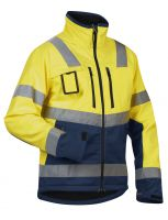 Blåkläder 4900 Softshell jack High Vis