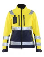 Blåkläder 4902 Dames Softshell jack High Vis