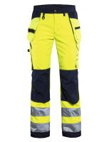 Blåkläder 7167 Dames Softshell werkbroek High Vis