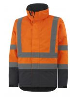 Helly Hansen Alta Insulated Jkt 70335 Oranje/Antraciet