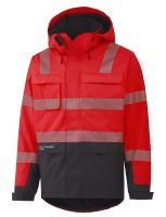 Helly Hansen York Insulated Jacket 71367 Rood/Antraciet