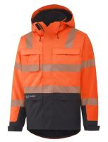 Helly Hansen York Insulated Jacket 71367 Oranje/Antraciet