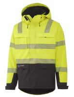 Helly Hansen York Insulated Jacket 71367 Geel/Antraciet