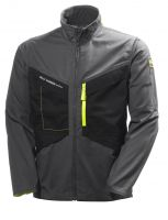 Helly Hansen Aker Jacket 77200 Antraciet/Zwart