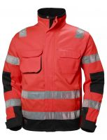 Helly Hansen Alna Jacket CL 3 77210 Rood/Antraciet