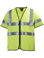 Helly Hansen High Vis Short Sleeve Vest 79218 Geel