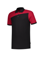 TRICORP 202006 POLOSHIRT BICOLOR - BLACK-RED