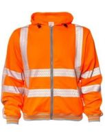 M-Wear 6230 hooded sweater RWS fluo oranje
