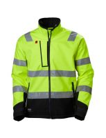 Helly Hansen 74094 ALNA SOFTSHELL JACKET (Yellow/Ebon)