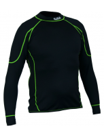 CXS thermoshirt ondergoed REWARD black-green