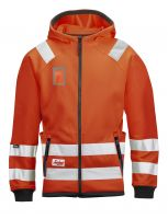 Micro Fleece Jack High Visibility, Klasse 3 8043