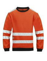 Micro Fleece Sweater High Visibility, Klasse 3 8053