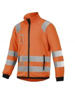 High Visibility Micro Fleece Jack, Klasse 3 8063