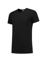 Tricorp 101012 T-Shirt Elastaan Slim Fit V Hals - Black