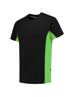 Tricorp 102004 T-Shirt Bicolor - Black-Lime