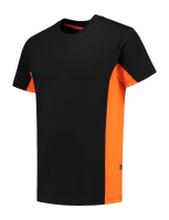 Tricorp 102004 T-Shirt Bicolor - Black-Orange