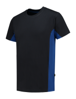 Tricorp 102004 T-Shirt Bicolor - Navy-Royalblue