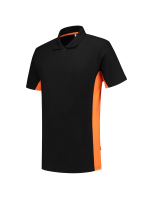 Tricorp 202004 Poloshirt Bicolor - Black-Orange