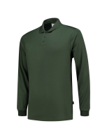 Tricorp 202005 Poloshirt UV Block Cooldry Lange Mouw - Bottlegreen