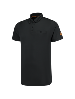 Tricorp 204001 Poloshirt Premium Button Down - Black