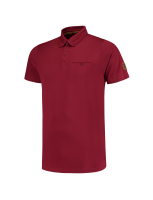 Tricorp 204001 Poloshirt Premium Button Down - Bordeaux
