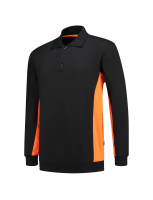 Tricorp 302003 Polosweater Bicolor - Black-Orange