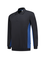 Tricorp 302003 Polosweater Bicolor - Navy-Royalblue