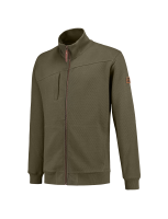Tricorp 304002 Sweater Premium Ritskraag - Army