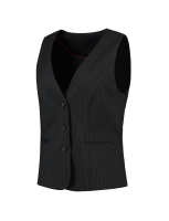 Tricorp 405002 Gilet Dames - Black-Stripe
