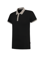 Tricorp 201002 Poloshirt Bicolor Slim Fit - Black-Grey