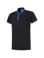 Tricorp 201002 Poloshirt Bicolor Slim Fit - Navy-Royalblue