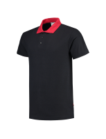 Tricorp 201004 Poloshirt Contrast - Navy-Red