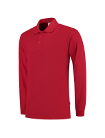 Tricorp 201009 Poloshirt Lange Mouw - Red