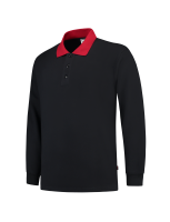 Tricorp 301006 Polosweater Contrast - Navy-Red