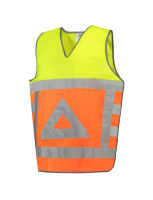 Tricorp 453001 Tabard Verkeersregelaar - Fluor Orange-Yellow