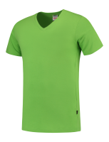 Tricorp 101005 T-Shirt V Hals Slim Fit - Lime