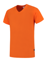Tricorp 101005 T-Shirt V Hals Slim Fit - Orange