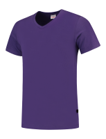 Tricorp 101005 T-Shirt V Hals Slim Fit - Purple
