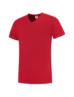 Tricorp 101005 T-Shirt V Hals Slim Fit - Red