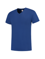 Tricorp 101005 T-Shirt V Hals Slim Fit - Royalblue