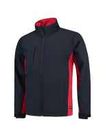 Tricorp 402002 Softshell Bicolor - Navy-Red