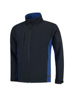 Tricorp 402002 Softshell Bicolor - Navy-Royalblue