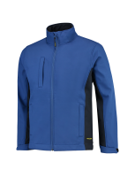 Tricorp 402002 Softshell Bicolor - Royalblue-Navy