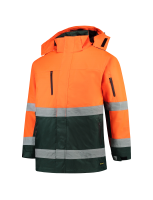 Tricorp 403004 Parka ISO20471 Bicolor - Fluor Orange-Green