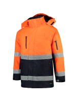 Tricorp 403004 Parka ISO20471 Bicolor - Fluor Orange-Navy