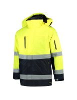 Tricorp 403004 Parka ISO20471 Bicolor - Fluor Yellow-Navy