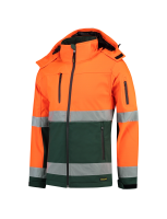Tricorp 403007 Softshell ISO20471 Bicolor - Fluor Orange-Green